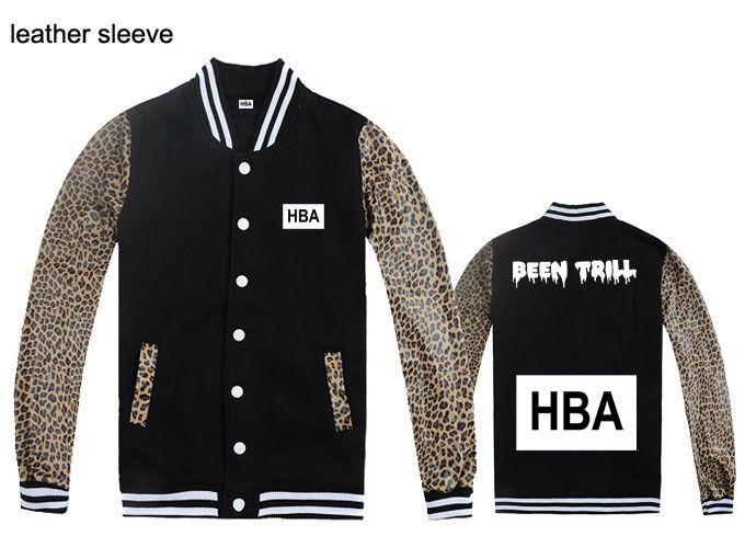 hood by air jackets for men HBA been trill hip hop baseball sweatshirts mens coats fleece male rock hiphop clothes