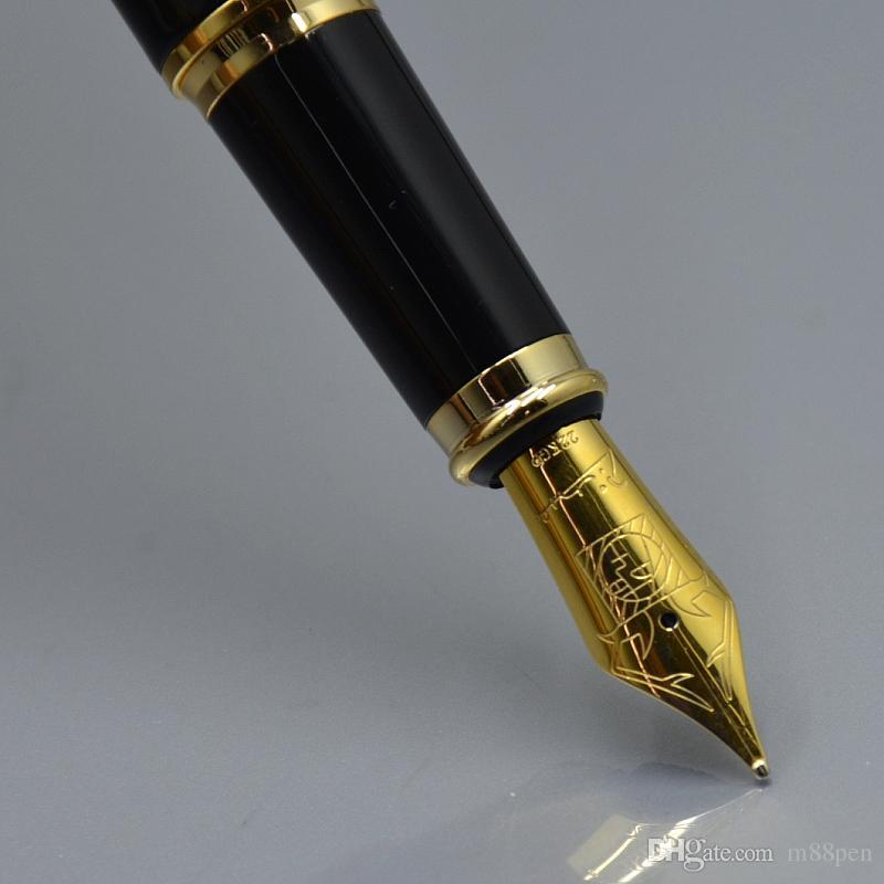 alto grau de Picasso Black metal fonte escola caneta material de escritório moda Promoção canetas de tinta escrevendo presente