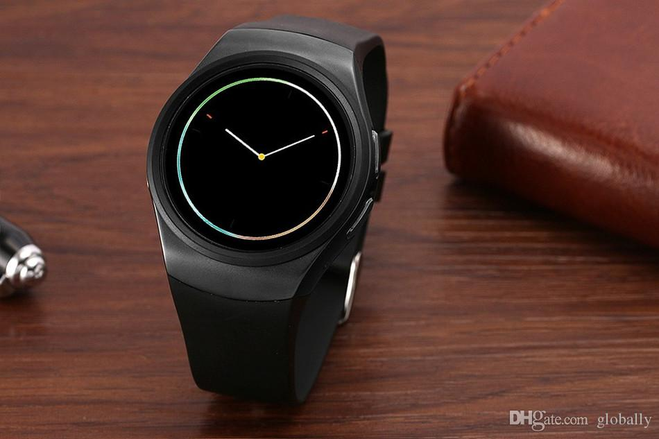 KW18 Bluetooh Smart Watch Heart Rate Monitor Support SIM TF Card Smartwatch for iPhone Samsung Huawei Gear S2 Android Smartwatch free shipp