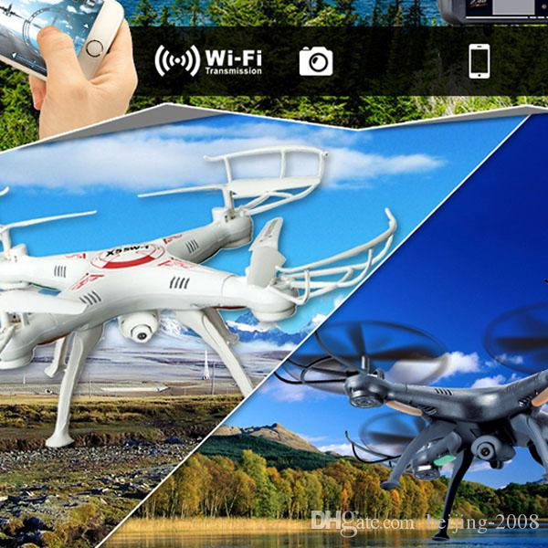 Luxury X5SW-1 WIFI RC Drone FPV Helicopter with HD Camera 2.0MP 2.4G 6-Axis Real Time video recording RC Helicopter high quality