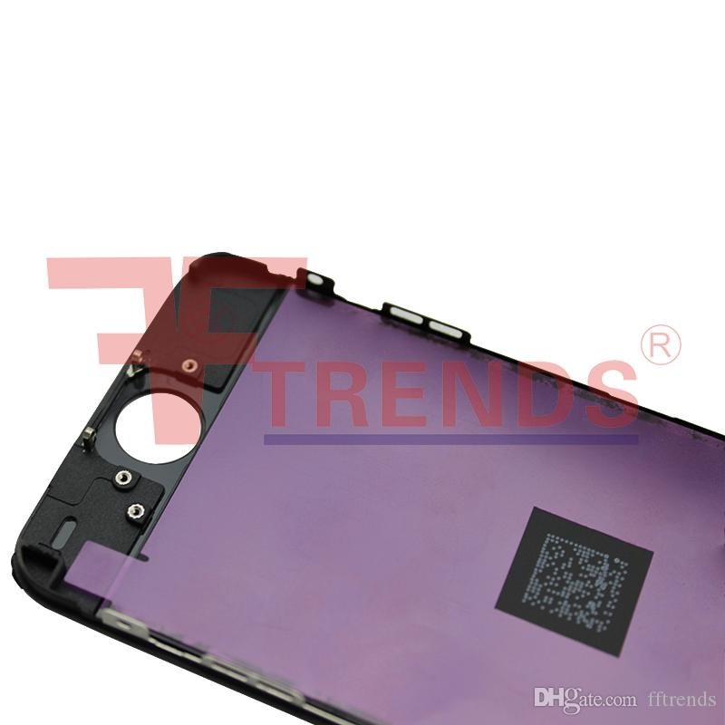 for iPhone 5 5S SE 5C LCD Display & Touch Screen Digitizer Full Assembly LCD Black White Screens 100% Test