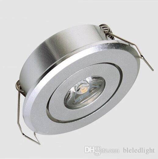 / Mini led 1W armoire downlight led taille du trou: 45mm, LED Star Light certifié CE RoHS, Plafond LED Spot Light