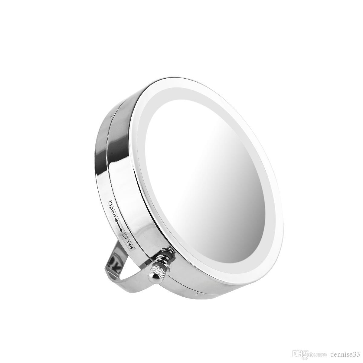 Bathroom Mirror Light Led Wall Light Mirror Makeup Metal Led Mirror ...
