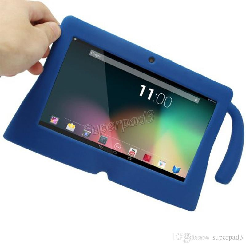 Wholesale Tablet PC Case Bags Q88 Silicone Tablet Case Cover 7 Inch For Kids Soft Rubber Gel Shock Proof Protective Case