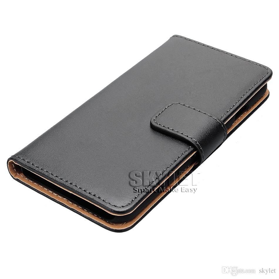 Hakiki Deri Cüzdan Kılıf iphone XS MAX XR 7 8 ARTı Galaxy S10 S10 ARTı S10E S9 NOT 9 S8 ARTı OPP TORBA ile Kapak Çevirin Kılıfları