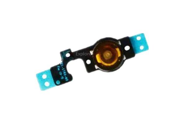 القائمة الرئيسية زر مفتاح كاب الكابلات المرنة حامل القوس الجمعية مجموعة آيفون 5 5G 5C أسود أبيض استبدال جزء