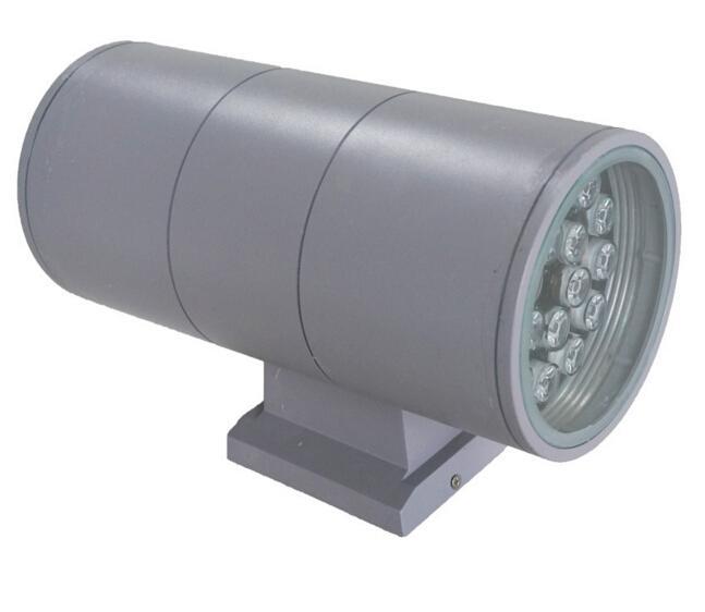 36W Extérieure Intérieure UPDOWN LED Montage Lampe AC 85 ~ 265V UP Down Éclairage Jardin Cour Lumière Imperméable IP65 Qualité Ampoule / DHL