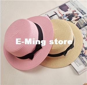 7cbcda9fd Designer Ladies Elegant Small Straw Beach Hats With A Bow Womens ...