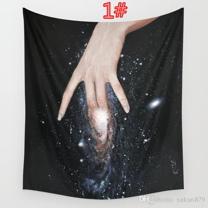 59*51 Inches Andromeda Kif Tapestry Background Yoga Home Cloth Beach Towel Living Room Decoration Wall decoration ECO Friendly