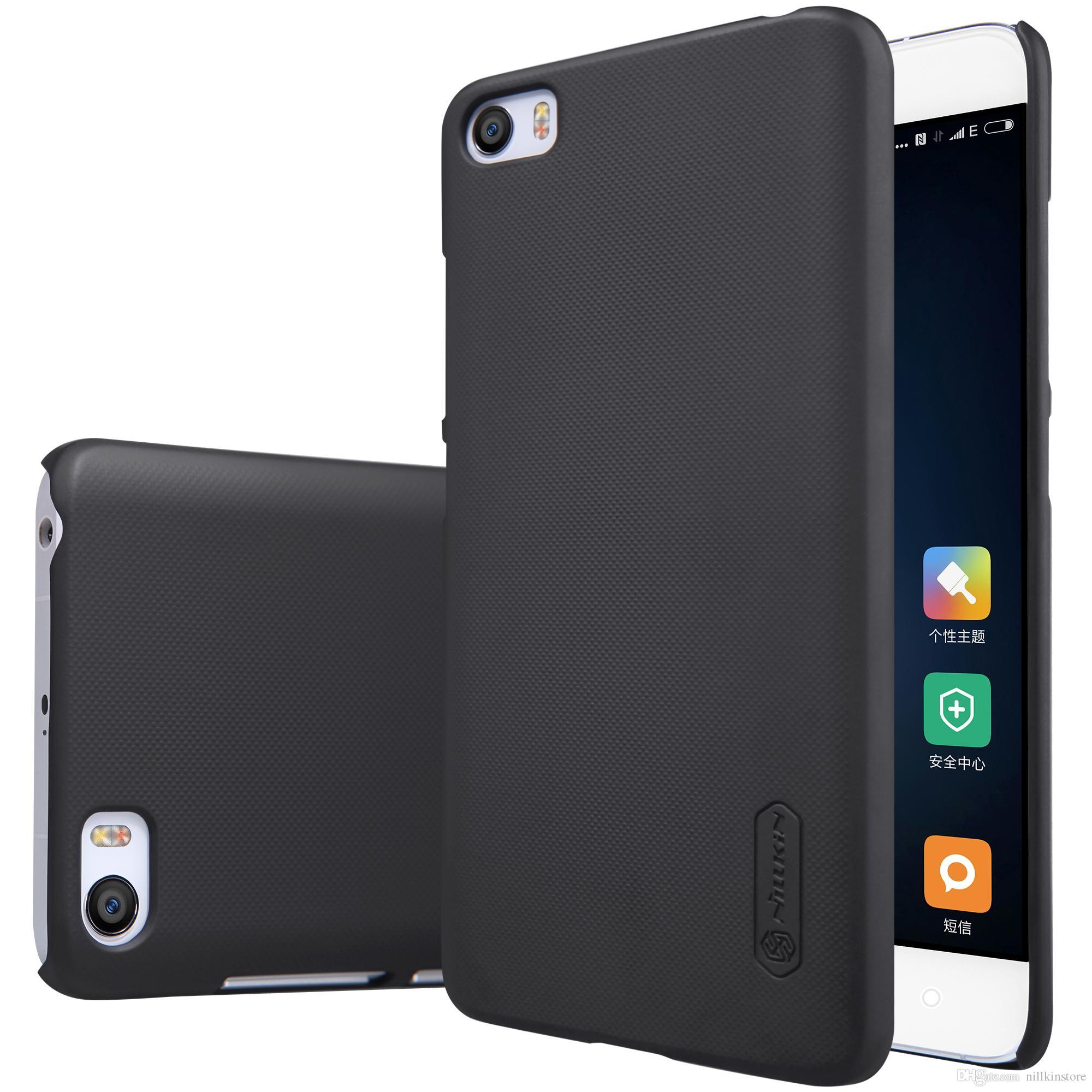 Xiaomi Mi5 Case Mi 5 Mi5 Pro Case Cover Nillkin Frosted Case For Xiaomi Mi5 Pro Mi 5 With Screen Protector Rhinestone Cell Phone Cases Silicone Cell Phone