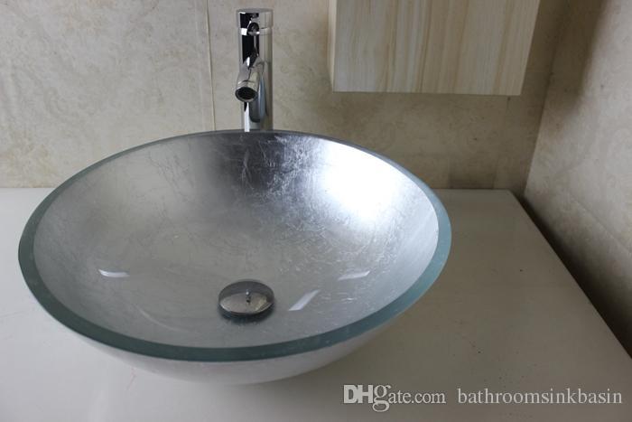 Glass Basin Vanity Bathroom Glass Basin Glass