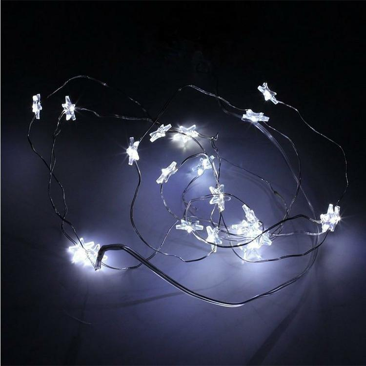 Super bright led lights Battery Operated Led Strings Copper Wire String Fairy Light garden party lights Christmas Xmas Home Decoration Light