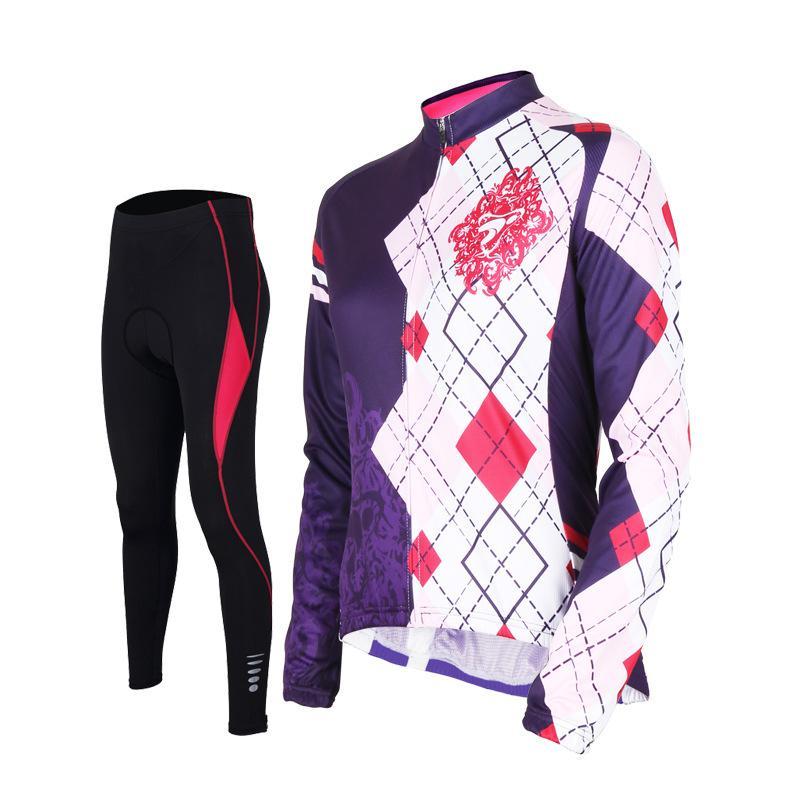 Tasdan Women Cycling Jersey Sets Sports Wear Mountain Bike Gear Online Cycling Bib and Jersey Set Clothing