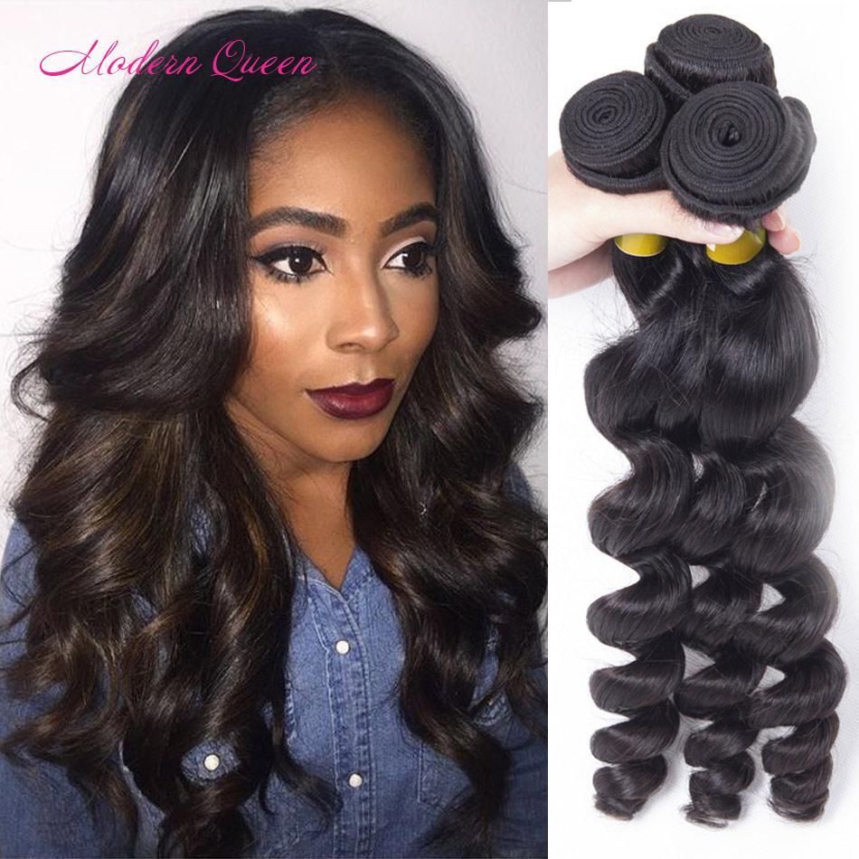 7a Mongolian Loose Wave Glamorous Hair 3 Bundles Mongolian Loose