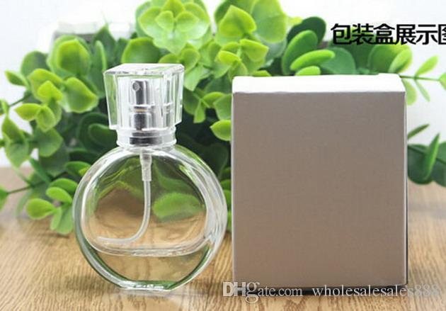 Fabrika Fiyat Toptan Sprey Parfüm Şişesi 25 ML Atomizer Parfüm Sprey Şişe Doldurulabilir Şişe Ile Boş Şeffaf Cam