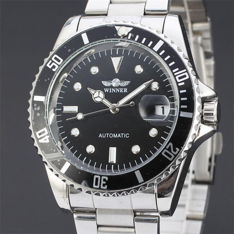 Famous Brand Winner Skeleton Watches Waterproof Swiss Army