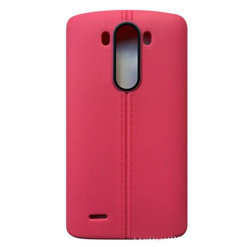 fashion Ultrathin line TPU Soft PU leather matte case cover skin for LG G2 G3 G4 G5 cheap case