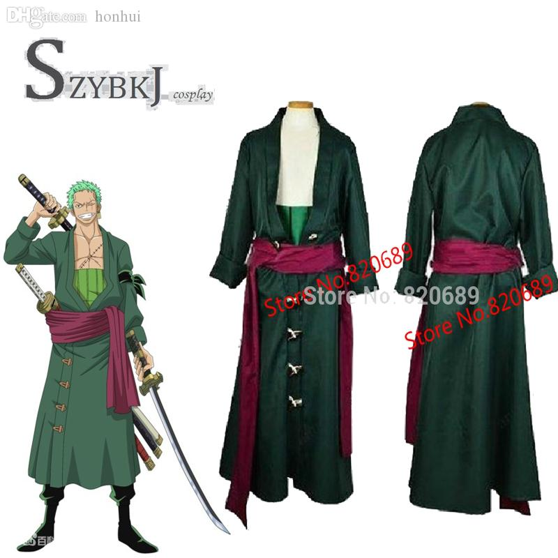 Wholesale One Piece Roronoa Zoro Cosplay Costume Two Years Later All