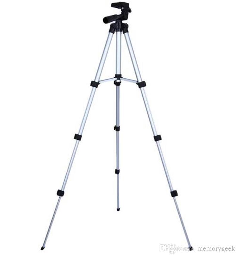 Weifeng WT-3110A 4 Secciones Portátil Universal Ligero Permanente Trípode Para Fuji Canon Sony Nikon Cámara Con Bolsa