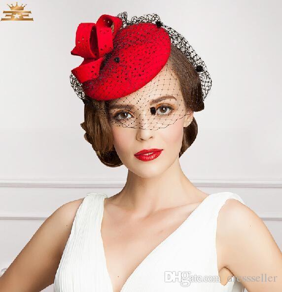 New Design Vintage Hat Perfect Birdcage Wedding Bridal Accessories 2015 Party Women Hats Bride Hat S-115