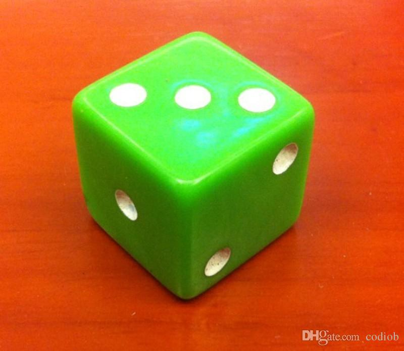 19mm Big Size Multi Colored 6 Sided Dice Square Corner D6 Kids Party Games Dices Drink Game Good Price High Quality #F14