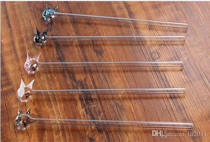 Color cocina de pescado pequeño, Venta al por mayor Bongs de vidrio Quemador de aceite Tubos de vidrio Tuberías de agua Tubería de vidrio Plataformas petroleras Fumar Libre Shoping