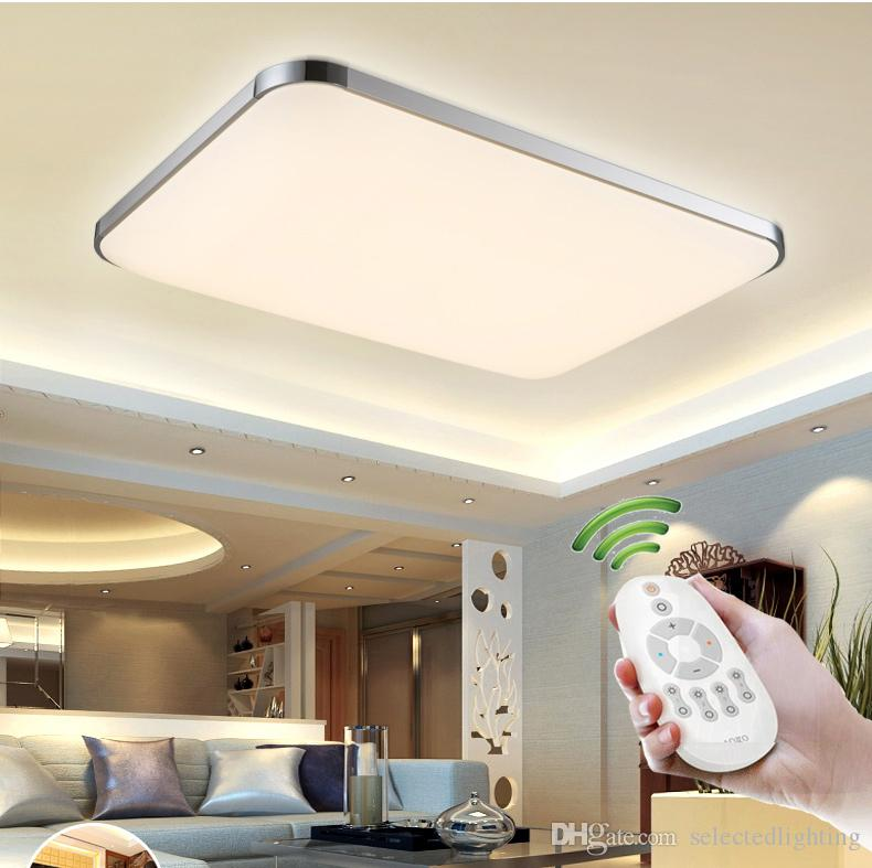 2018 Dimmable Modern Led Ceiling Lights For Living Room Bedroom Kids ...