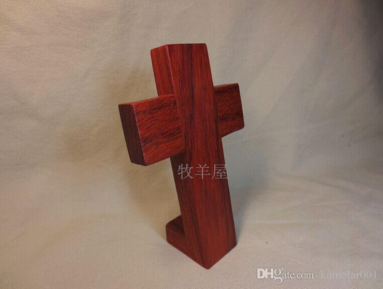 2018 Christian Gifts Red Rosewood Wood Cross Humble Christmas Gifts ...