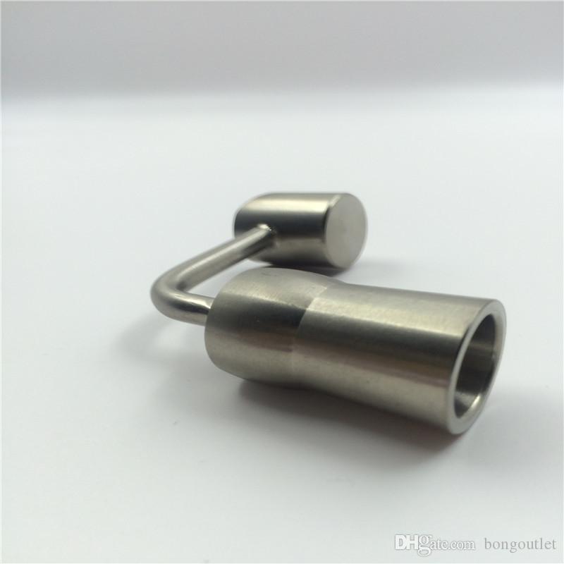 Prezzo all'ingrosso buon qulaity 10mm titanio domeless chiodi titanio dabble il commercio all'ingrosso tabacco da fumo acquirente con Design unico ESTN090