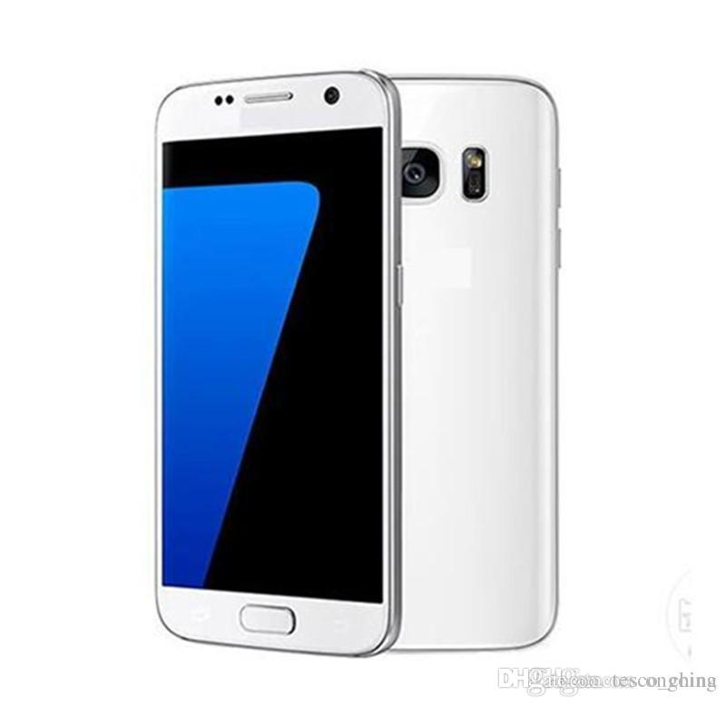 unlocked clone S7 MTK6572 Dual Core goophone Cell Phones Android 5.1 Lollipop 5.1 inch S7 Smartphone Show 4G LTE WCDMA smartphone