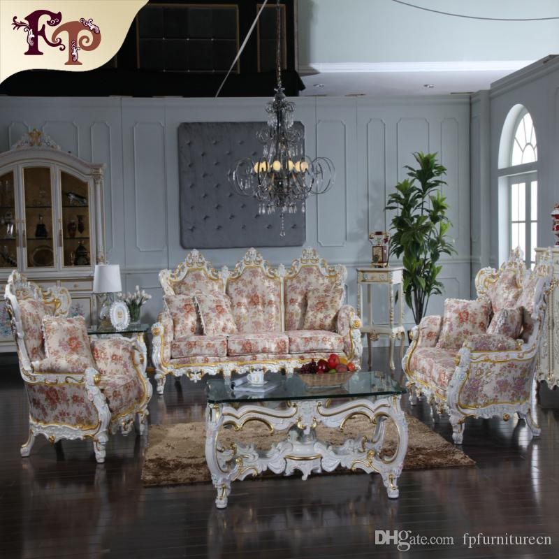 2018 Royalty Classic Sofa Set Rococo Style Living Room European Furniture From Fpfurniturecn 253669