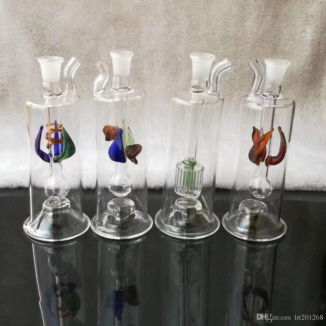 미니 꽃 호스는 전자를 보내지 않는다, 도매 유리 봉 오일 버너 유리 파이프 물 파이프 오일 렌지 흡연 무료 배송