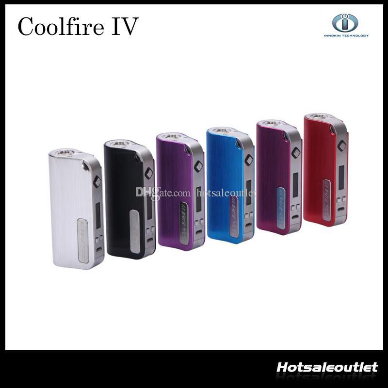 Mod de batería Innokin CoolFire IV 40W 2015 Cool Fire IV Express Kit 2000 mah Innokin Coolfire 4 Box Mod 2201044 100% auténtico
