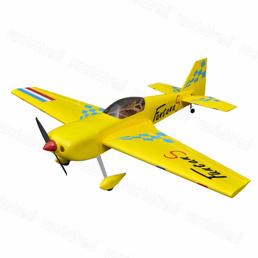 Wholesale- Flight Model Funtana 70 Balsa Wood Funtana RC Airplane ...
