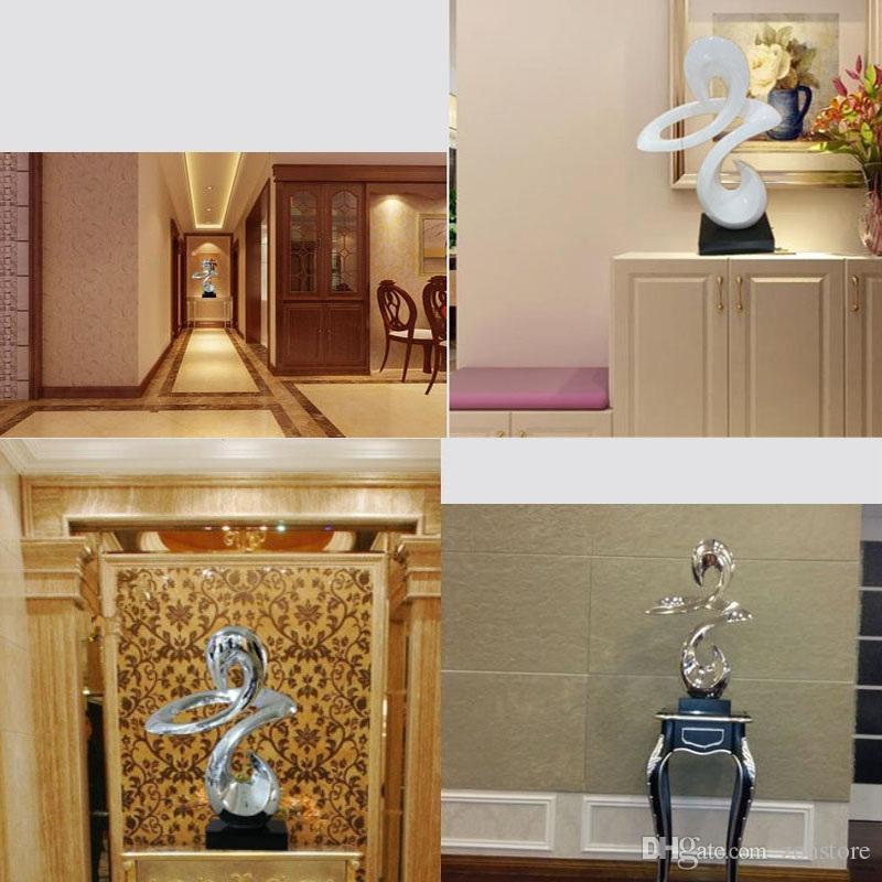 Отель крейсерская скульптура ремесла мода абстрактный орнамент статуя украшения скульптура ремесла с покрытием смолы для клубов украшения