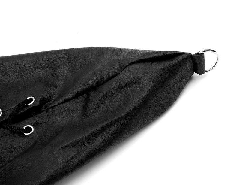 Leather Arm Binder Bondage Sleeve, Arm Lockable Glove Sleeves, bondage toys, Sex Toys basm toys bondage restraint