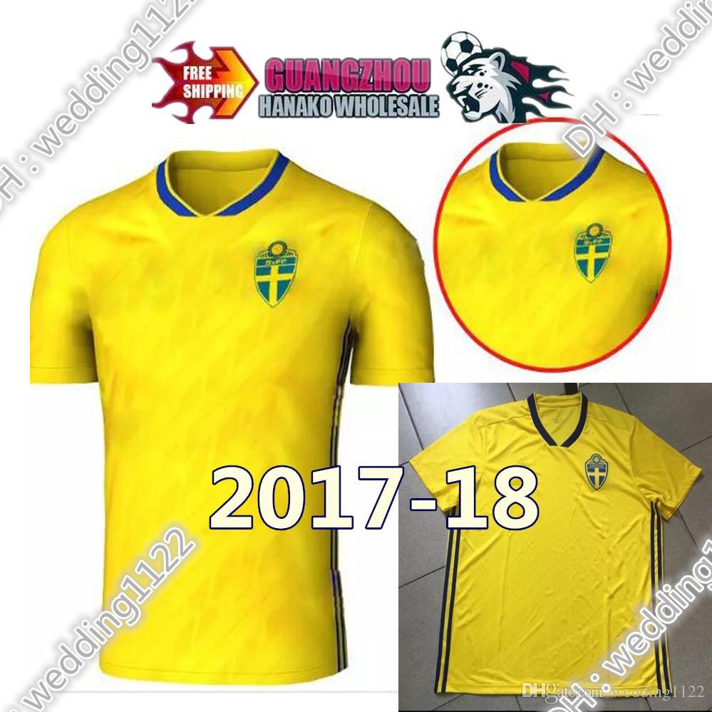 ... greece 2018 world cup team national sweden soccer jerseys shirts thai  quality season men 10 ibrahimovic d981f6f45