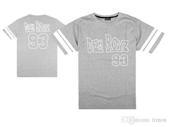 HACEMOS DEM BOYZ CAMISETA # 93 streetwear hombres hip hop camisetas hiphop rock tops moda camisetas frescas ropa masculina envío gratis