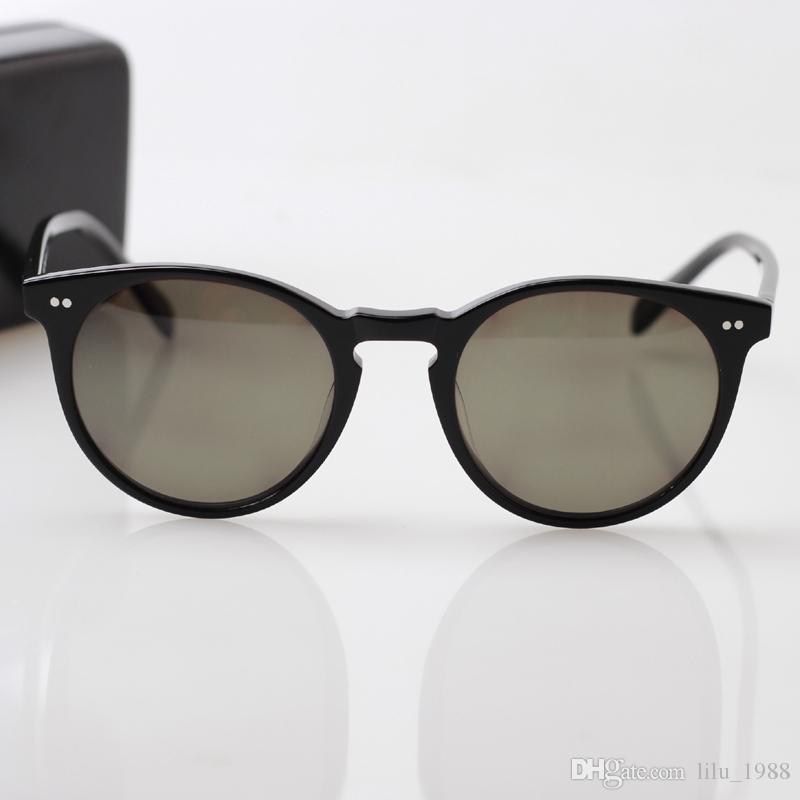cdf7ef6eb81 2016 New Fashion Vintage Round Sunglasses Men Women Hand Made Acetate Full  Rim Sun Glasses Sunglass Sun Glasses Online with  51.43 Piece on  Lilu 1988 s ...