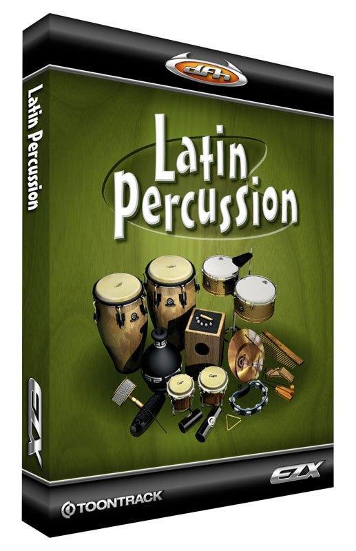 ezdrummer latin percussion