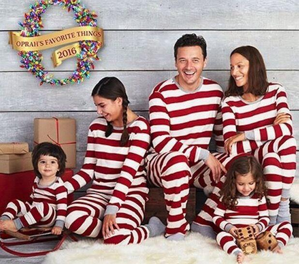 fa5775f27079 Retail Family Matching Christmas Pajamas Kids Boys Girls Dad Mom Christmas  Striped Cotton Pajamas Set Matching Family Outfits Family Matching Outfits  From ...