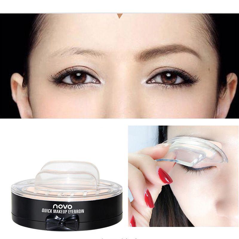 Novo Eyes Makeup Brow Stamp Seal Eyebrow Powder Waterproof Gray