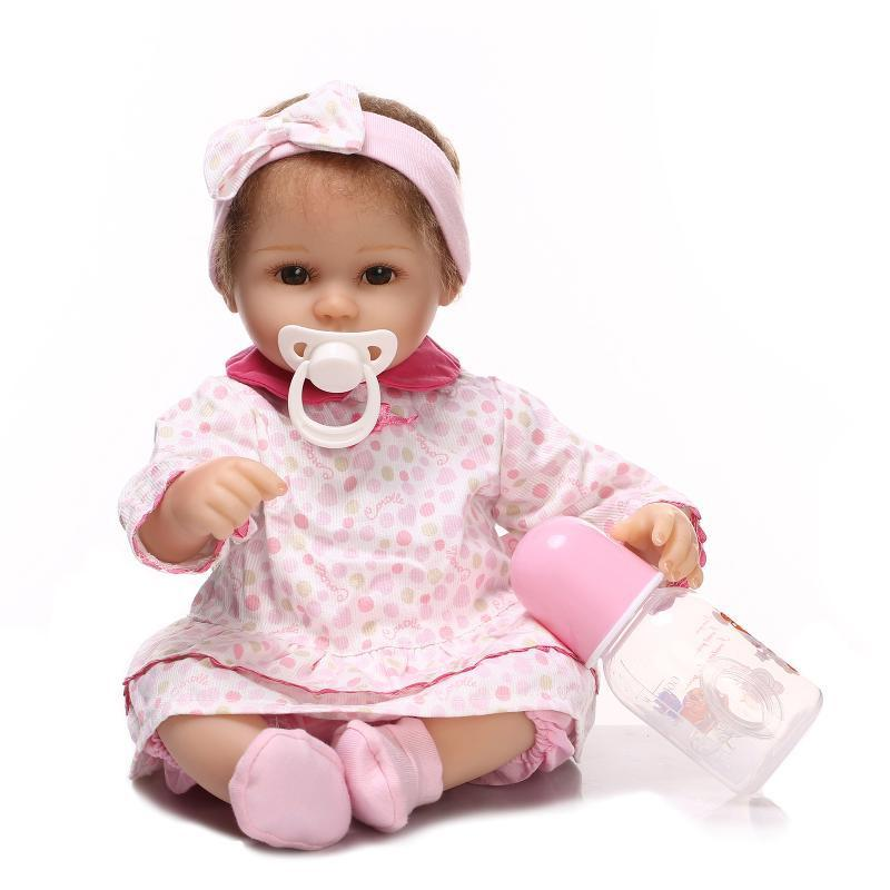 Pink Shoes Porcelain Baby