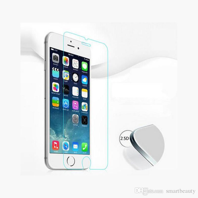 Protective LCD Clear Tempered Glass Transparent Screen Protector Film Ultra thin For Iphone 6S Plus