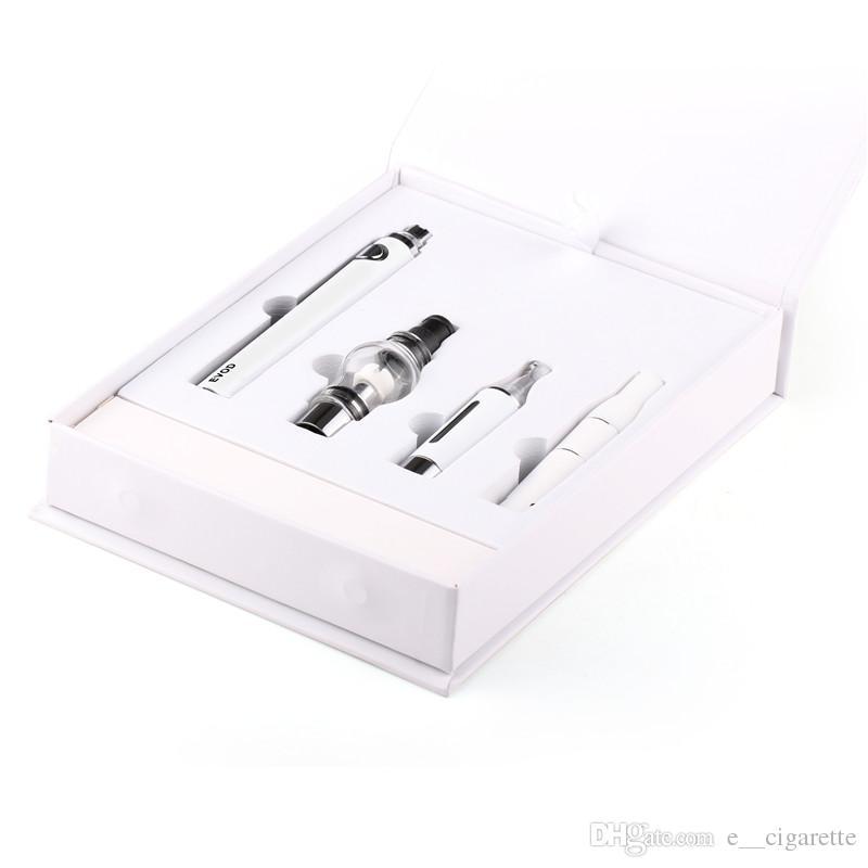 magia 3 in 1 sigarette elettroniche con vaporizzatore di cera Ago MT3 Glass Globle atomizzatore EVOD batteria penna vaporizzatore spedizione gratuita