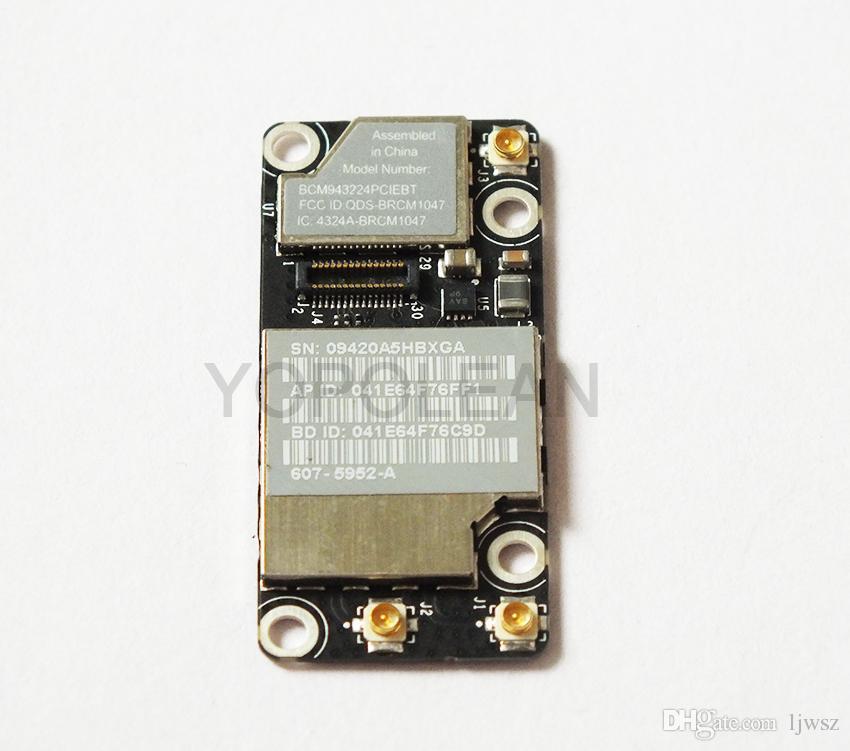 Like New For Macbook A1342 A1286 WIFI Airport Bluetooth Card MC371 MC372 MC373 BCMIEBT High Quality Free Shiping