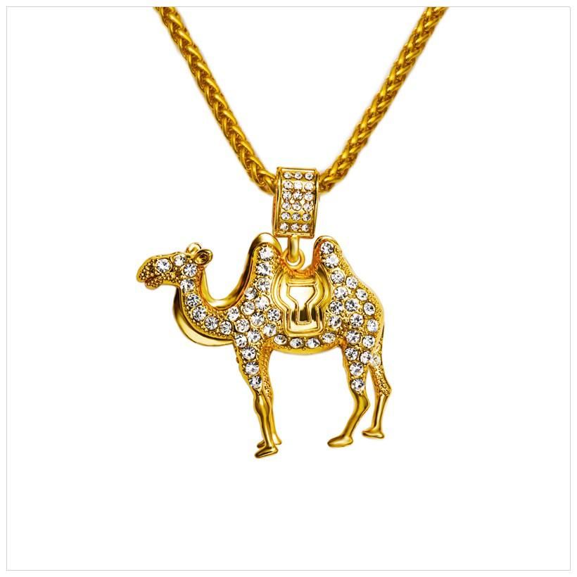 Wholesale New Fashion Hip Hop Jewelry 2016 Vintage 18k Real Gold