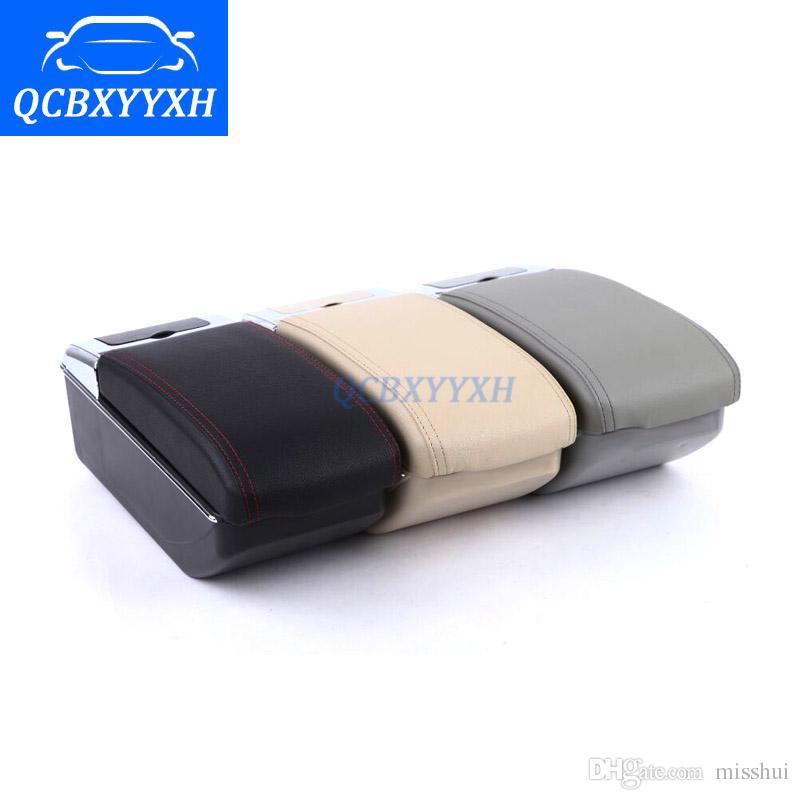 Для Chevrolet Парус 3 2015-2017 подлокотник центр ящик для хранения черный серый кремовый цвет ABS кожа с кубок победитель пепельница аксессуар