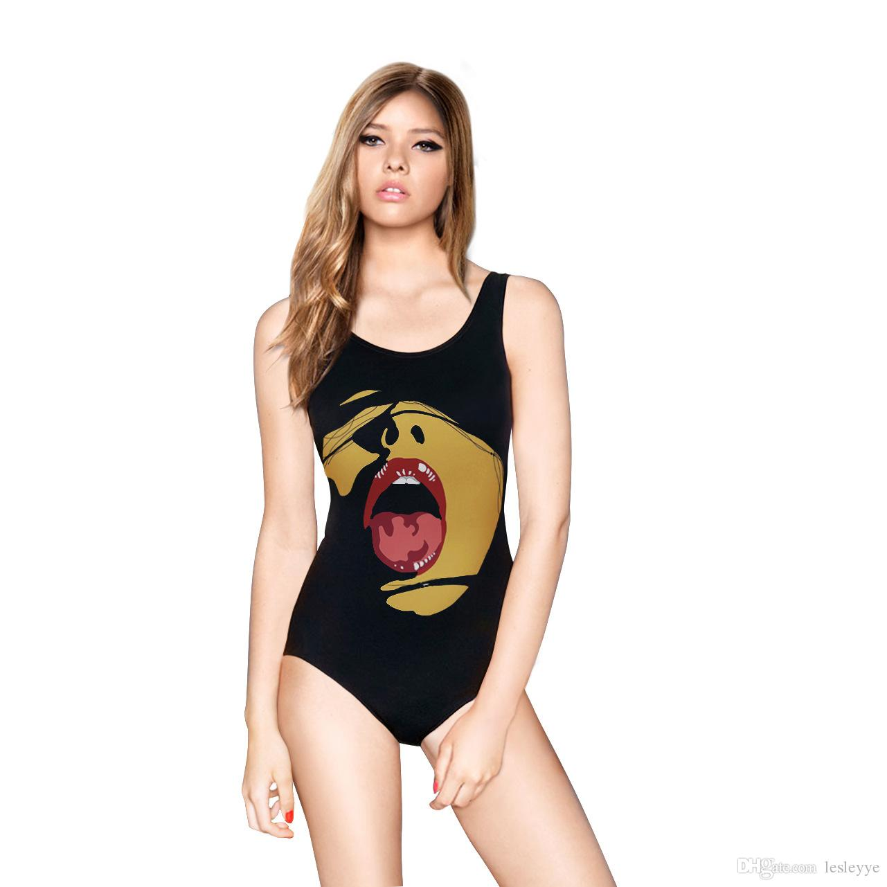 3d طباعة ملابس السباحة مثير النساء بوهيميا مثير قطعة واحدة المايوه النساء monokini زائد حجم ملابس النساء السباحة ارتداء قطعة واحدة الاستحمام