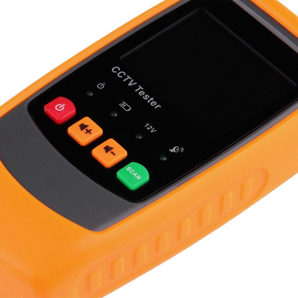 ADSL 탐지 카메라와 함께 GM61 2.0 인치 LCD 모니터 CCTV 테스터 보안 와이어 트래커 도매